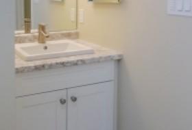 Basement Finishing: New bathroom